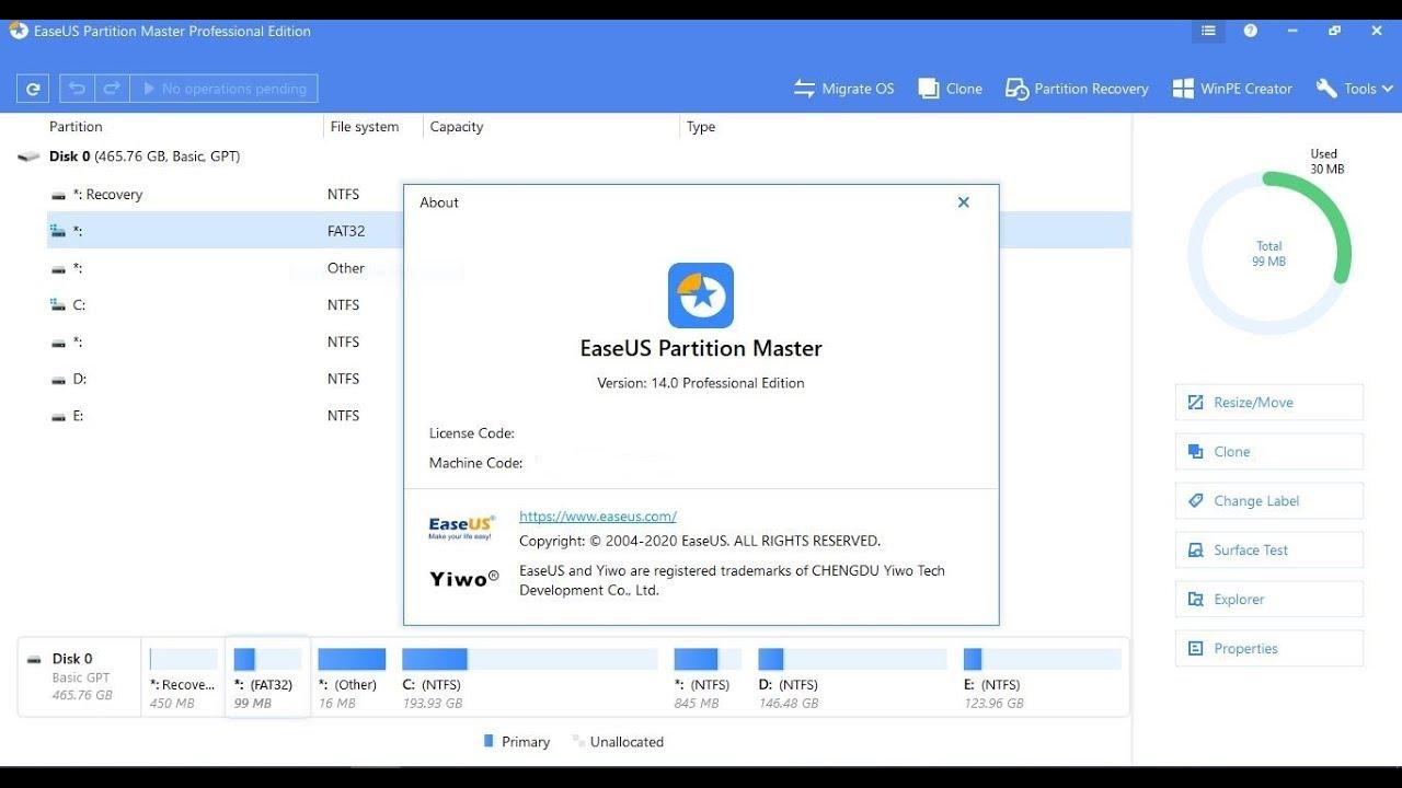 easeus partition maste license code