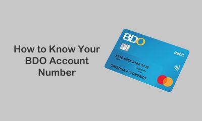 Bdo Account Number