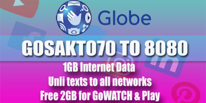 GLOBE GOSAKTO70
