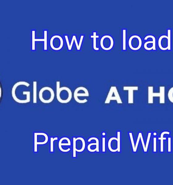 how to load globe prepaid wifi