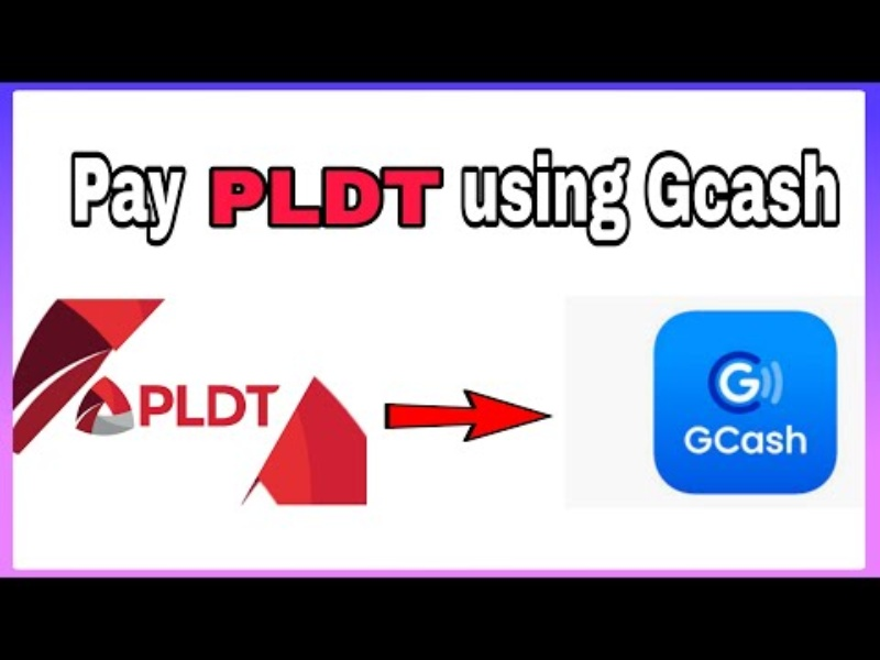 how to pay pldt using gcash