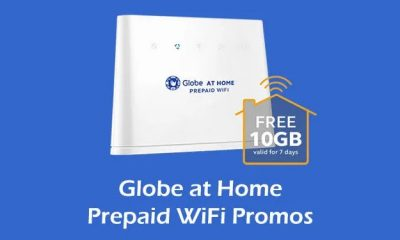 globe prepaid wifi load list